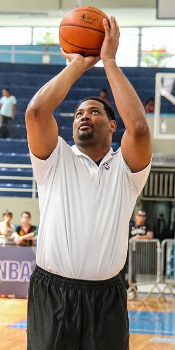 Cafu, Robert Horry, NBA 3x no Brasil (Foto: Bruno Miani)