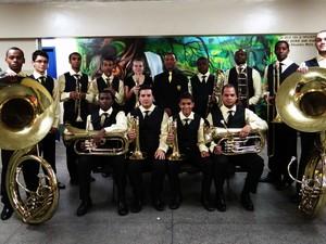Orquestra de Metais Jovem Imperial Petropolitana (Foto: Divulgação/Robson Mello)