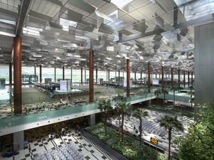 Aeroporto de Changi, na Cingapura, eleito o melhor do mundo em 2013 (Foto: Divulgação/Changi Airport Group)
