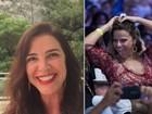 Luma de Oliveira parabeniza Vivi Araújo: 'Tenho muito orgulho de você'
