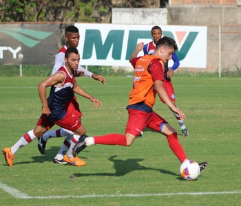 Lusinho; bahia; treino bahia (Foto: EC Bahia / Divulgação)