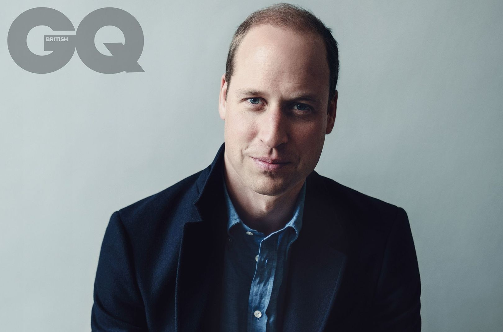 Príncipe William para a GQ britânica (Foto: Norman Jean Roy)