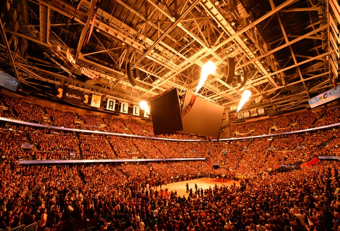 Cleveland Cavaliers Quicken Loans Arena torcida final da NBA (Foto: Getty Images)
