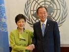 ONU elogia firmeza da líder sul-coreana frente a Coreia do Norte