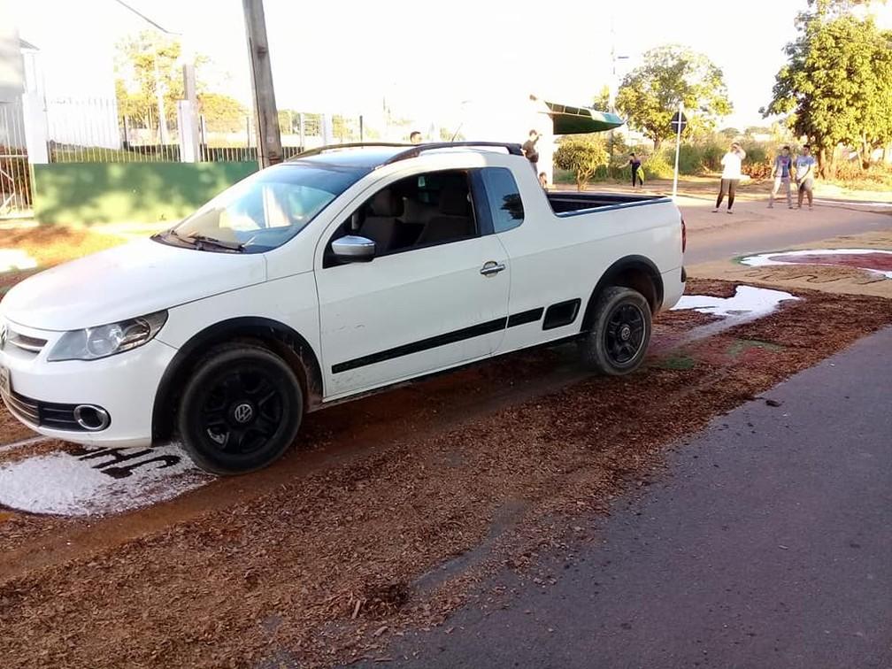 Condutor foi levado à delegacia de Ji-Paraná (Foto: Facebook/Reprodução)