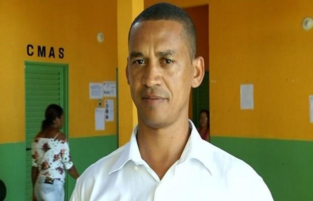 Zé Dias, prefeito eleito de Flores de Goiás (Foto: Reprodução / TV Anhanguera)