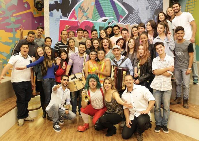 Estúdio C circo (Foto: Luiz Renato Correa/RPC)
