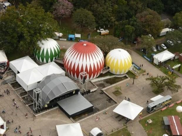 Remodelação do Parque de Exposições em Esteio é finalizada (Foto: Divulgação/Seap)