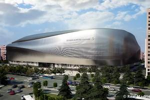 Apresentação maquete estádio Real Madrid Santiago Bernabéu (Foto: Reprodução / Site Oficial do Real Madrid)