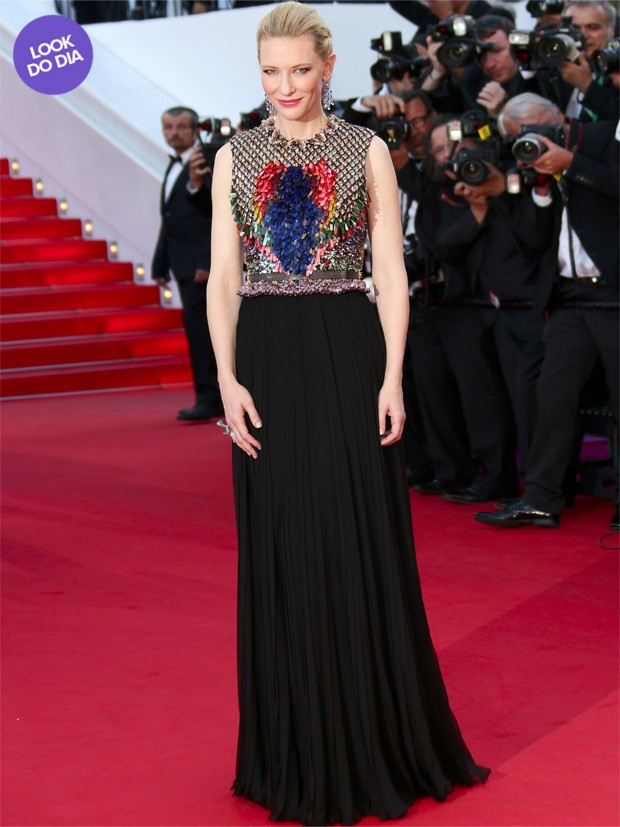 Look do dia - Cate Blanchett (Foto: Getty Images)