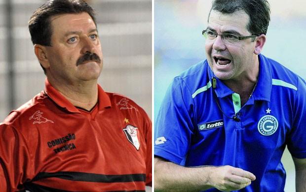 Leandro Campos e Enderson Moreira (Foto: Montagem sobre foto da Agência Estado)