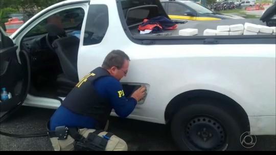 Vendedor é preso com 17kg de drogas em carro no Litoral Norte da Paraíba