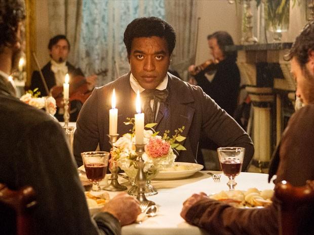 Chiwetel Ejiofor em cena de '12 years a slave' (Foto: Divulgação)