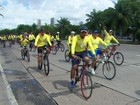 Passeio ciclístico arrecada recursos para reforma do Hospital de Câncer