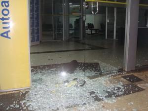 Unidades ficam próximas e pertencem ao Banco do Brasil (Foto: Divulgação/Blog do Sérgio Santos)
