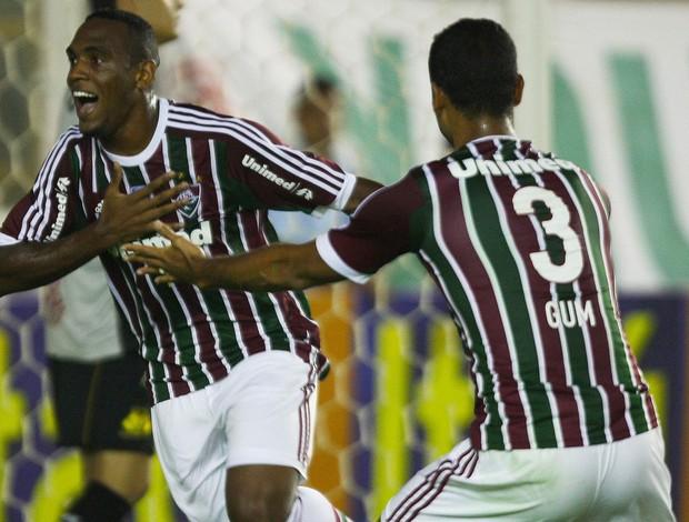 Digão e Gum, Fluminense x Criciuma (Foto: Agência Photocamera)