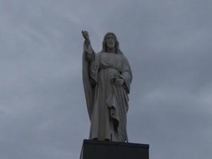 Cristo da Barra é dos principais pontos turístico de Salvador (Foto: Reprodução / TV Bahia)