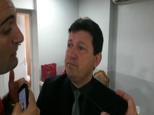 Vereador Agnaldo Feitosa (PR) , líder da situação (Foto: Tássio Andrade/G1)