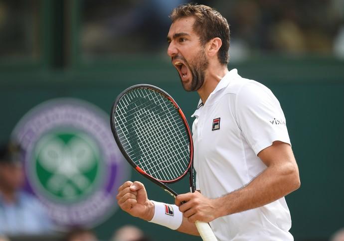 Marin Cilic está na final do torneio de Wimbledon (Foto: REUTERS/Toby Melville)