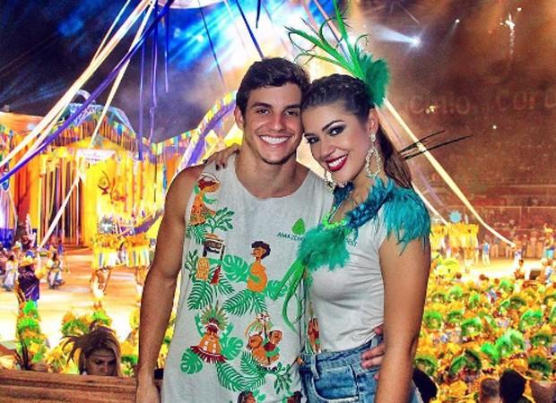 Manoel rafaski e Vivian Amorim (Foto: Reprodução/Instagram)