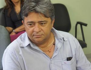 Aldeone Abrantes, presidente do Sousa (Foto: Lucas Barros / Globoesporte.com/pb)