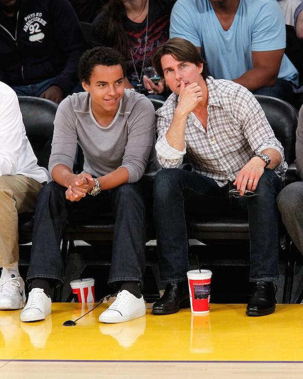 Connor Cruise com o pai, o ator Tom Cruise (Foto: Getty Images)