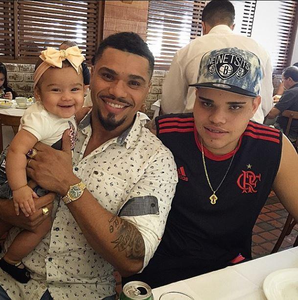 Naldo com os filhos (Foto: Reprodução_Instagram)