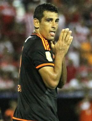 Diego Souza CRB x Sport Copa do Nordeste (Foto: Aldo Carneiro / Pernambuco Press)