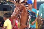 Arco e flecha em Jogos Indígenas na Aldeia Ekeruá é destaque
