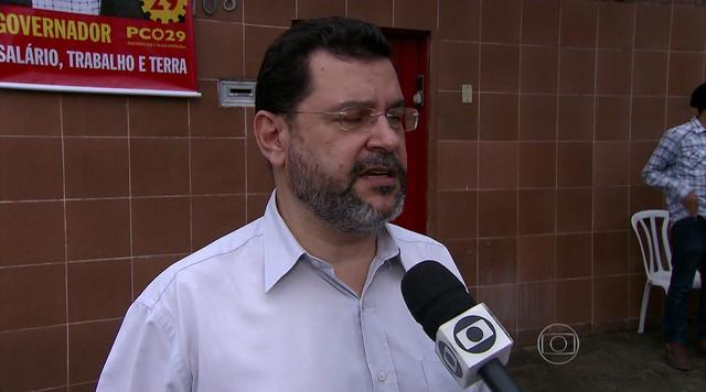 Rui Costa Pimenta faz campanha em São Paulo