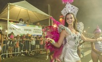 Desfile de rua anima