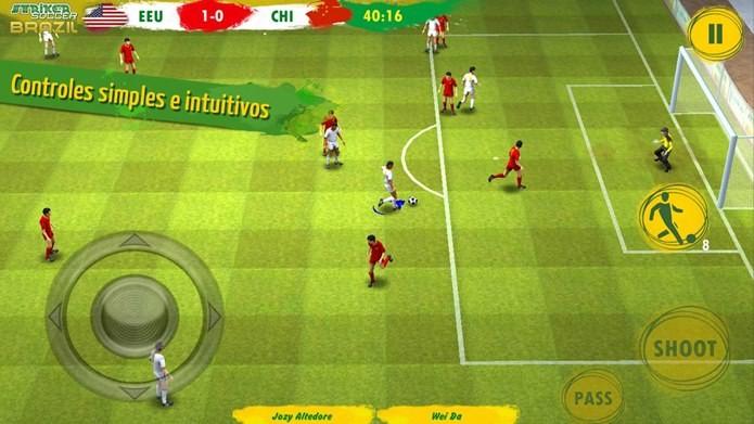 Jogo de futebol que funciona em qualquer Android (Foto: Divulgação)