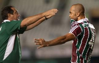 Leandro Euzebio Muricy gol Fluminense (Foto: Ag. Estado)