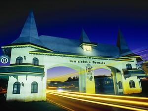Pórtico de entrada da cidade de Gramado (RS) (Foto: Secretaria Estadual de Turismo/Divulgação)