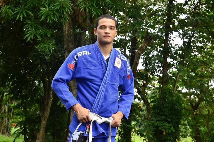 Lucas Duarte é um dos destaques da delegação, com apenas 17 anos (Foto: Divulgação/Sejel)