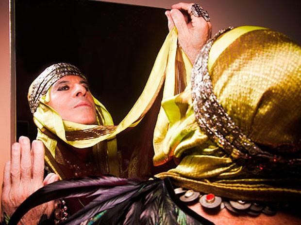 Ney Matogrosso apresenta show 'Atento aos Sinais' nos dias 31 de maio e 1º junho, em Salvador (Foto: Divulgação/ TCA)