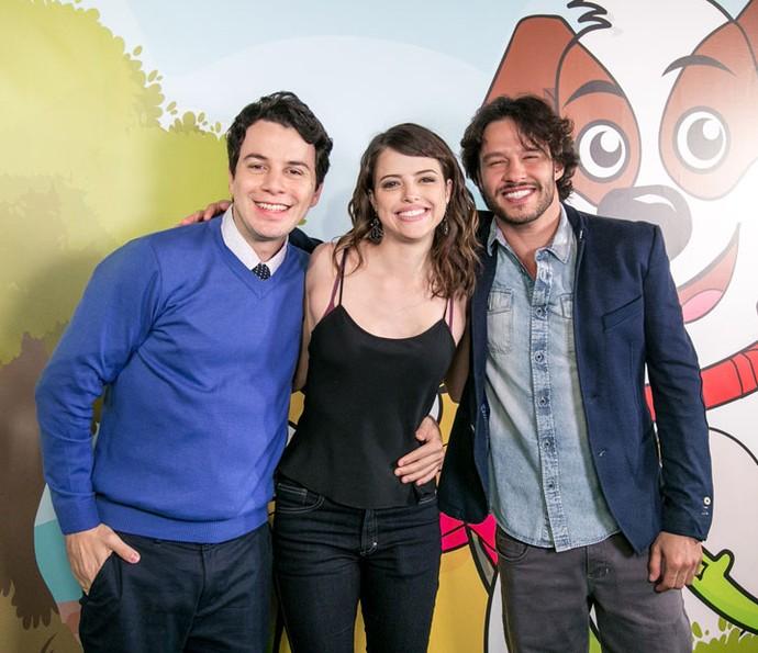 Elenco conhece animação de 'Tito Cachorrinho e Sua Turma' (Foto: Isabella Pinheiro/Gshow)