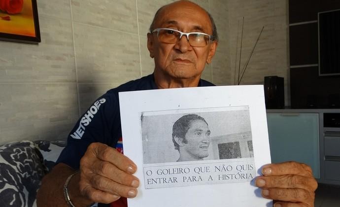 Jurandir Salvador, Goleiro Bahia (Foto: Lafaete Vaz / GloboEsporte.com)