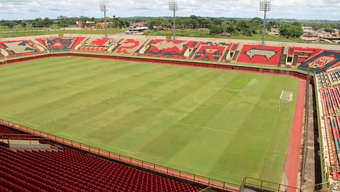 Arena da Floresta, em Rio Branco (Foto: João Paulo Maia)