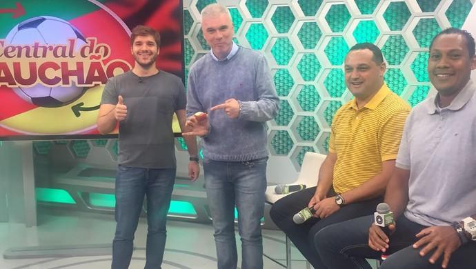 Central do Gauchão (Foto: Tomás Hammes / GloboEsporte.com)