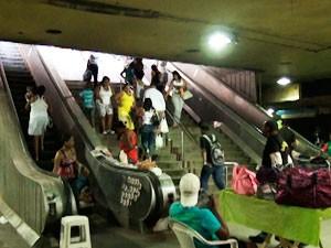 Estação da Lapa (Foto: Danutta Rodrigues/G1)