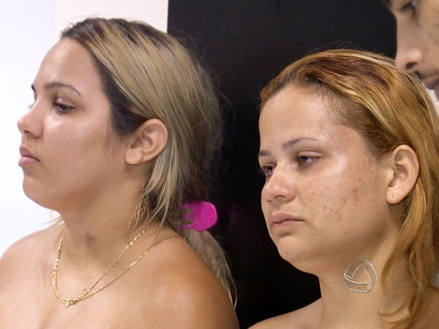 Mulheres suspeitas de dopar agentes penitenciários foram presas em Cuiabá. (Foto: Reprodução/TVCA)