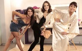 Encontro de divas! Xuxa grava Cheias de Charme ao lado de Isabelle Drummond