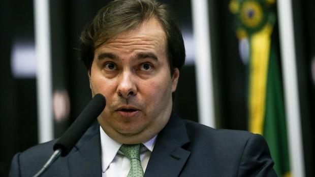 O presidente da Câmara dos Deputados, Rodrigo Maia (DEM) (Foto: Marcelo Camargo/Agência Brasil)