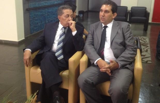 Empreário Walter Paulo depões sobre compra da casa do governador Marconi Perillo em Goiânia (Foto: Gabriela Lima/G1)