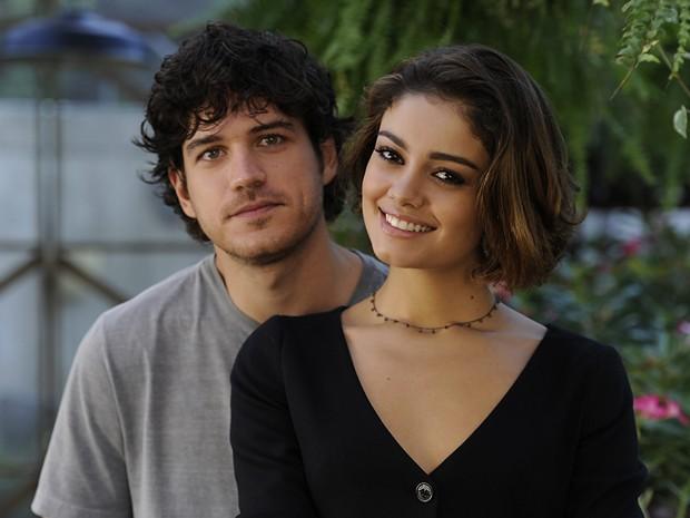 Sophie Charlotte e Marco Pigossi formavam par romântico de Sangue Bom (Foto: Estevam Avellar / TV Globo)