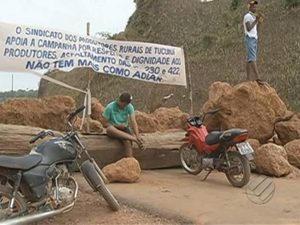 BR-230 Transamazônica Indígenas (Foto: Reprodução/TV Liberal)