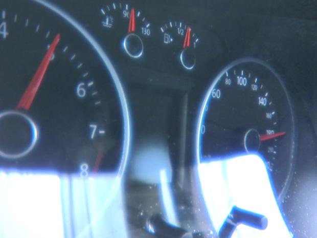 Velocímetro ficou travado em 180 km/h após acidente em Sertãozinho, SP (Foto: Reprodução / EPTV)