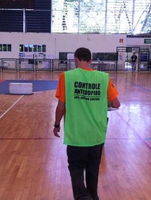 Controle antidopagem do Comitê Paralímpico Brasileiro (Foto: João Marcelo Sena)