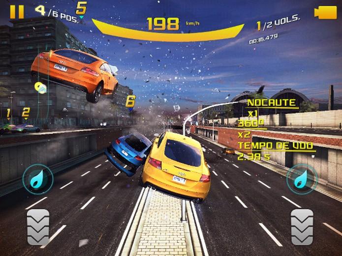 Asphalt 8 tem gráficos incríveis e ótima jogabilidade (Foto: Divulgação)